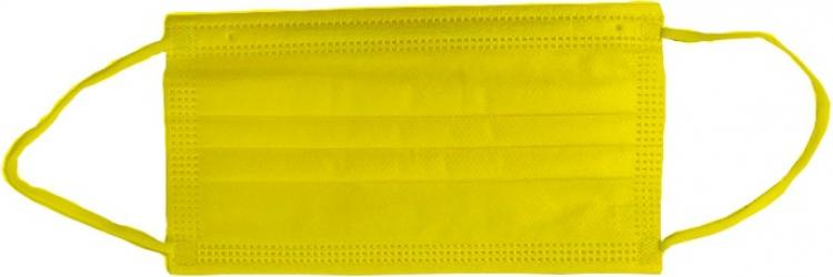 Masca medicala 4 straturi full color Galben Dr. Mayer