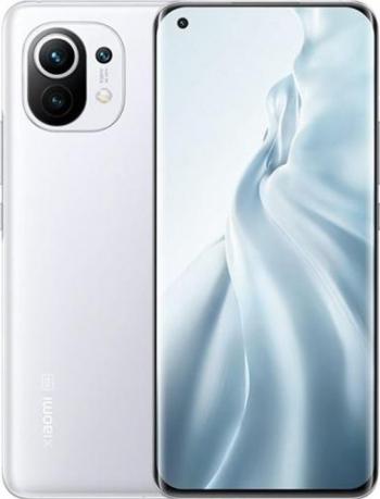 Telefon mobil Xiaomi Mi 11 256GB Dual SIM 5G Cloud White Telefoane Mobile