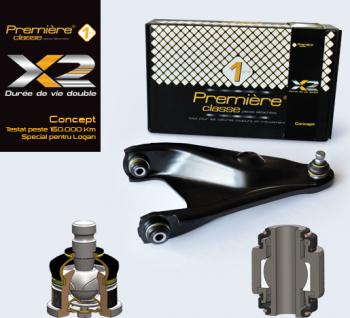 brat suspensie stanga LOGAN SANDERO-Premiere X Concept testat peste 150000 km