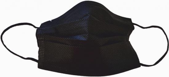 Masca protectie faciala de unica folosinta 3 straturi neagra set 50 buc
