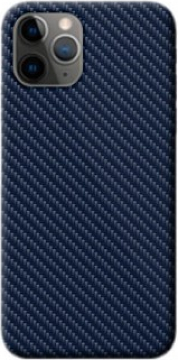 Skin Autocolant 3D Colorful Huawei P30 Pro Back Spate si laterale E-11 Carbon Albastru Blister