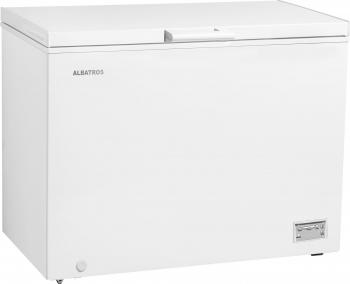 Lada frigorifica Albatros LA338 308 L Clasa F Fast Freeze Orificiu drenaj Alb