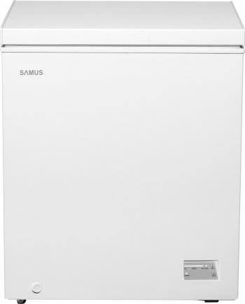 Lada frigorifica Samus LS167 142 L Clasa F Fast Freeze Alb Lazi si congelatoare