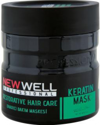 Masca de Par Profesionala cu Keratina New Well 500 ml