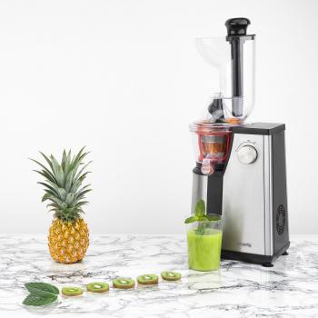 Storcator pentru fructe si legume H.KOENIG GSX18 capacitate 1l motor cu viteza lenta pentru conservarea nutrientilor silentios Storcatoare