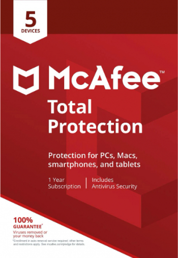 Antivirus McAfee Total Protection 5 Dispozitive 1 An Licenta Electronica