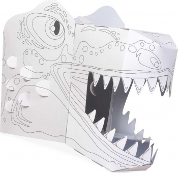 Coloreaza-ti propria Masca 3D T-Rex Fiesta Crafts FCT-3042 B39017659