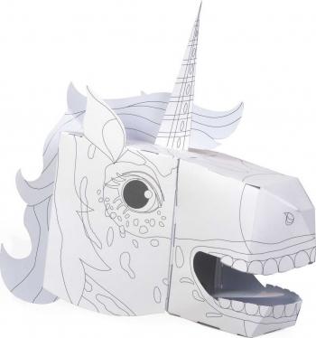 Coloreaza-ti propria Masca 3D Unicorn Fiesta Crafts FCT-3043 B39017660