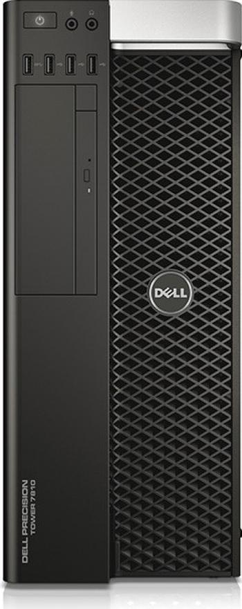 Workstation DELL Precision T7810 2x Intel Xeon 6-Cores E5-2620v3 3.20 GH 32 GB DDR4 ECC 256 GB SSD + 1 TB HDD Placa Video nVidia Quadro