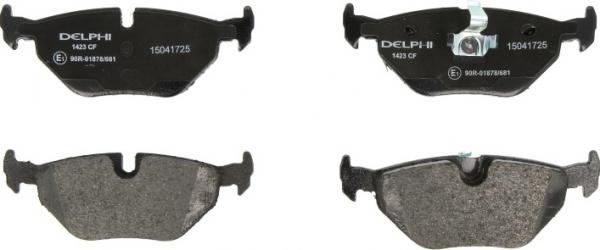 set placute frana spate BMW seria 3 E46 E36 -Delphi