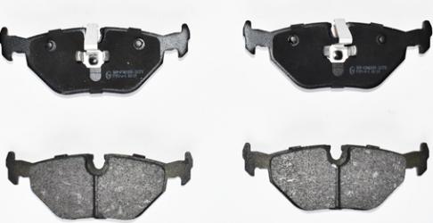 set placute frana spate BMW seria 3 E46 E36 -Polparts