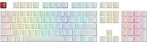 Taste Tastatura Glorious PC Gaming Race Aura Keycaps 105 taste ANSI US-Layout Alb Accesorii