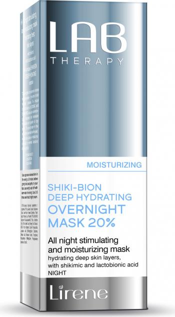 Masca-tratament LAB Therapy pentru noapte stimulatoare si intens hidratanta cu Acid Shikimic si Lactobionic 50ml
