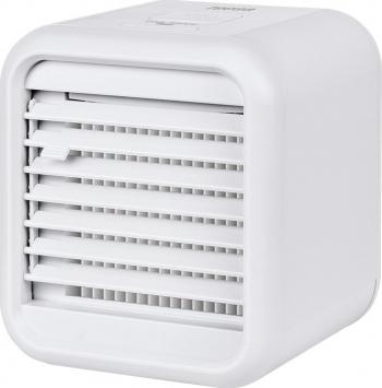 Mini Aparat de Aer Conditionat pentru Camera sau Birou cu Ventilator Iluminare LED Multicolora Purificare si Umidificare Aer Putere 8W