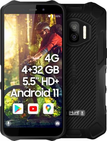 Telefon mobil iHunt S60 Discovery PRO 2022 32GB Dual SIM 4G Negru