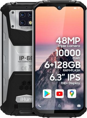 Telefon mobil iHunt Titan P13000 PRO 2021 128GB Dual SIM 4G Negru-Gri
