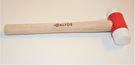Ciocan cap rotund pentru tamplarie Eltos doua capete 0.300 kg Tamplarie PVC