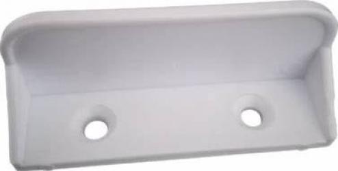 Maner plastic pentru plasa insecte alb Tamplarie PVC
