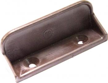 Maner plastic pentru plasa insecte maro Tamplarie PVC