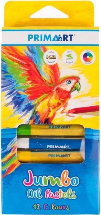 Prima Art Jumbo Oil Pastels - pasteluri uleioase 12 culori