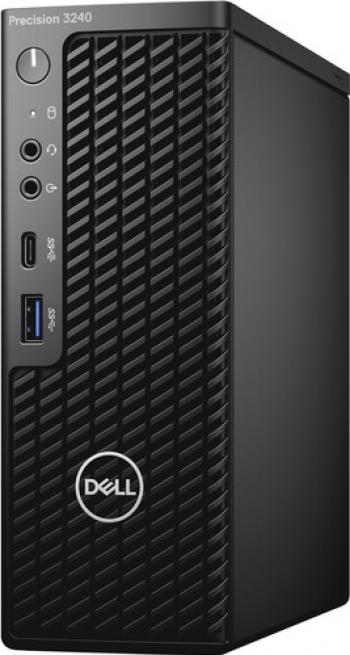 Desktop Dell Precision 3240 CFF Intel Core (10th Gen) i9-10900 512GB SSD 32GB Nvidia Quadro P620 2GB Win10 Pro M+Tast.