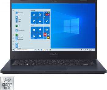Laptop ASUS Expertbook P2 P2451FA Intel Core (10th Gen) i7-10510U 1TB SSD 8GB FullHD Win10 Pro FPR T.Ilum. Star Black