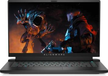 Laptop Gaming Alienware M15 R5 AMD Ryzen 7 5800H 1TB SSD 16GB RTX 3060 6GB FullHD 165Hz Win10 Pro RGB Dark Side Of The Moon