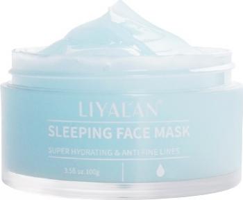 Masca de noapte Anti-Rid LIYALAN Super Hidratanta Pentru toate tipurile de ten - 100 g Masti, exfoliant, tonice