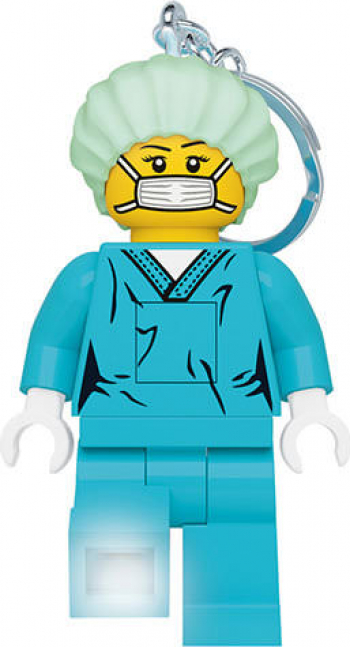 Breloc cu LED LEGO Chirurg