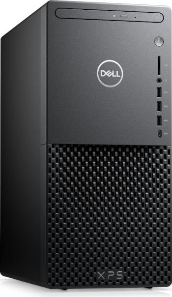 Desktop Dell XPS 8940 MT Intel Core (11th Gen) i7-11700 1TB+512GB SSD 16GB RTX 3060Ti 8GB Win10 Pro DVD-RW M+T Negru