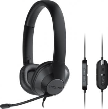 Casti Creative HS-720 V2 Office Noise Cancelling Negru