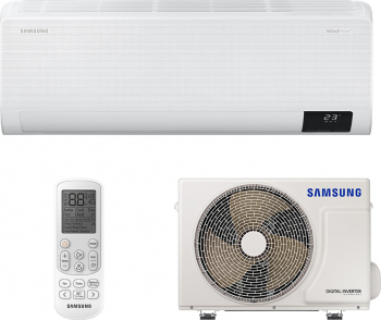 Aparat de aer conditionat Samsung Wind Free Confort AR12TXFCAWKNEU 12.000 BTU Clasa A++ Samsung SmartThings WiFi Inverter R32 Alb