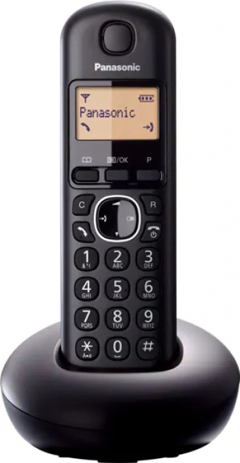 Telefon fix PANASONIC KX-TGB210FXB DECT negru