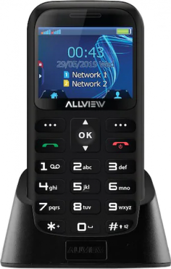 Telefon mobil Allview D2 Senior Dual SIM Black