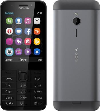 Telefon mobil Dual SIM Nokia 230 Dark Silver