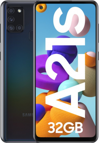 Telefon SAMSUNG Galaxy A21s 32GB 3GB RAM Dual SIM Black Telefoane Mobile
