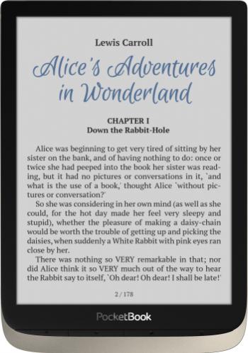 eBook Reader PocketBook Inkpad Color 7.8 inch 16GB Argintiu