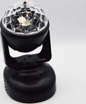 Glob cu lumini RGB Mp3 player telecomanda