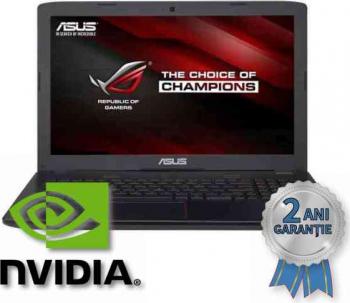 Laptop Refurbished ASUS ROG GL552VX i7-6700HQ up to 3500MHz/ 16GB DDR4/ SSD 240GB + HDD 750GB/ NVIDIA GTX 950M 4GB/ 15 6 inch/ Win 10 HOME