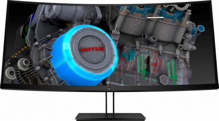 Monitor Curbat HP Z38C 37 5 inch Ultra HD 4K Gaming Refurbished
