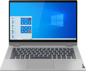 Laptop 2in1 Lenovo IdeaPad Flex 5 14ALC05 AMD Ryzen 3 5300U 256GB SSD 8GB AMD Radeon Graphics FullHD Touch Win10 T.Ilum. FPR Platinum Grey