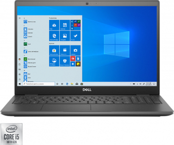 Laptop Dell Latitude 3510 Intel Core (10th Gen) i5-10210U 256GB SSD 8GB HD Win10 Pro Gri