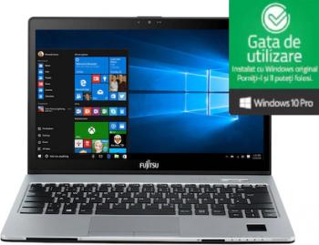 Laptop Fujitsu S936 Intel Core i5-6200U 2.80GHz 8GB DDR4 256GB SSD 13.3 inch Webcam FullHD Windows 10 Pro Refurbished