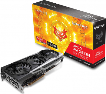 Placa video Sapphire NITRO+ AMD Radeon RX 6700 XT 12GB GDDR6 192-bit