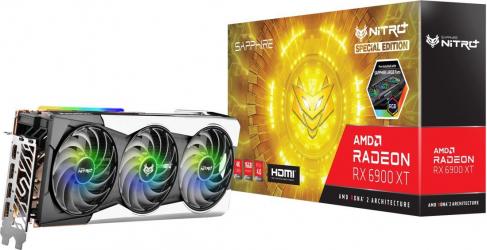 Placa video Sapphire NITRO+ AMD Radeon RX 6900 XT 16GB GDDR6 256-bit
