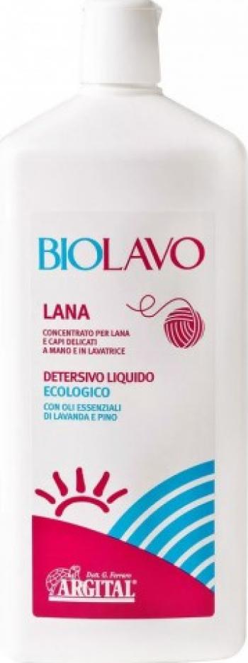 Detergent super- concentrat pentru lana si tesaturi fine 1L Argital