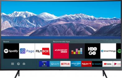 Televizor Samsung curbat 55TU8372 138 cm Smart 4K Ultra HD LED Clasa G