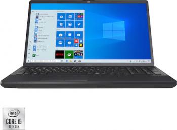 Laptop Fujitsu Lifebook A3510 Intel Core (10th Gen) i5-1035G1 256GB SSD 8GB FullHD Win10 Pro Black