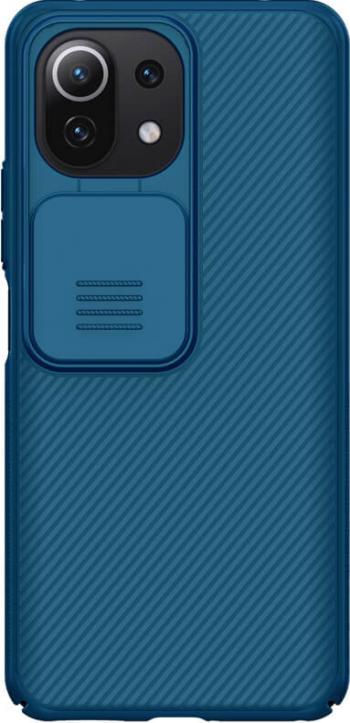 Husa protectie spate si camera foto albastru pentru Xiaomi Mi 11 Lite 4G/5G - Nillkin CamShield