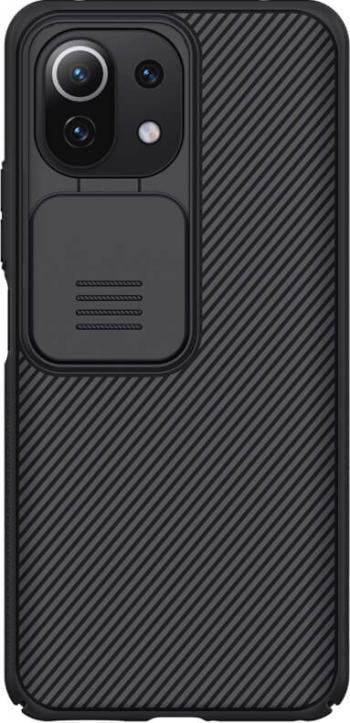 Husa protectie spate si camera foto negru pentru Xiaomi Mi 11 Lite 4G/5G - Nillkin CamShield